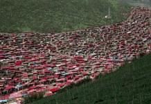 Larung Gar Tibetan Buddhist center
