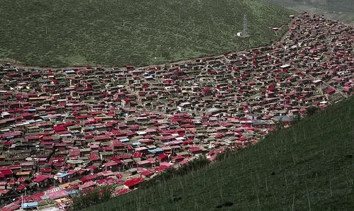 Larung Gar Tibetan Buddhist center