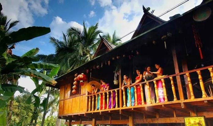 Jingpo Bamboo-storied Houses