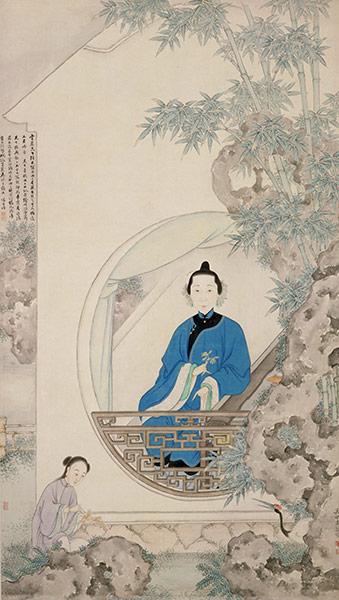 Portrait of Cao Zhenxiu