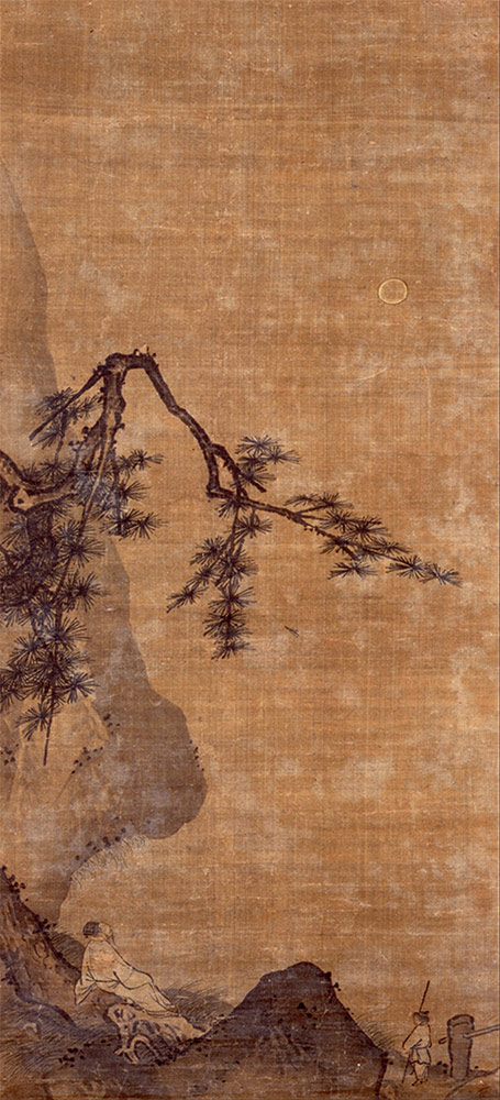 Attributed-to-Ma-Yuan---GENTLEMAN-VIEWING-THE-MOON