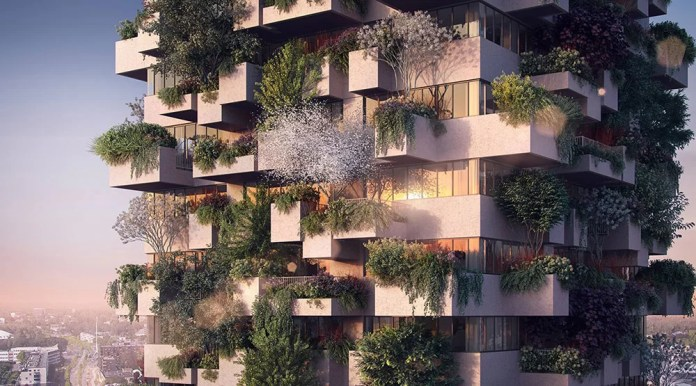Trudo-Vertical-Forest-of-Eindhoven