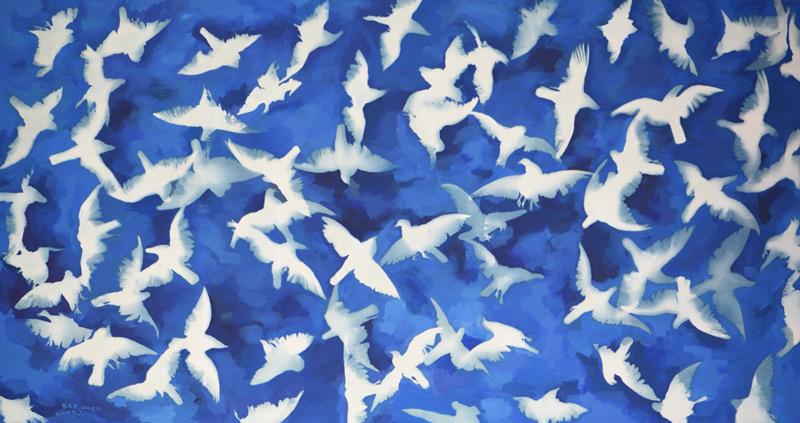 Zhang-Dali---Blue-Blue-Sky