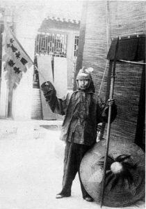 A boxer soldier in Beijing