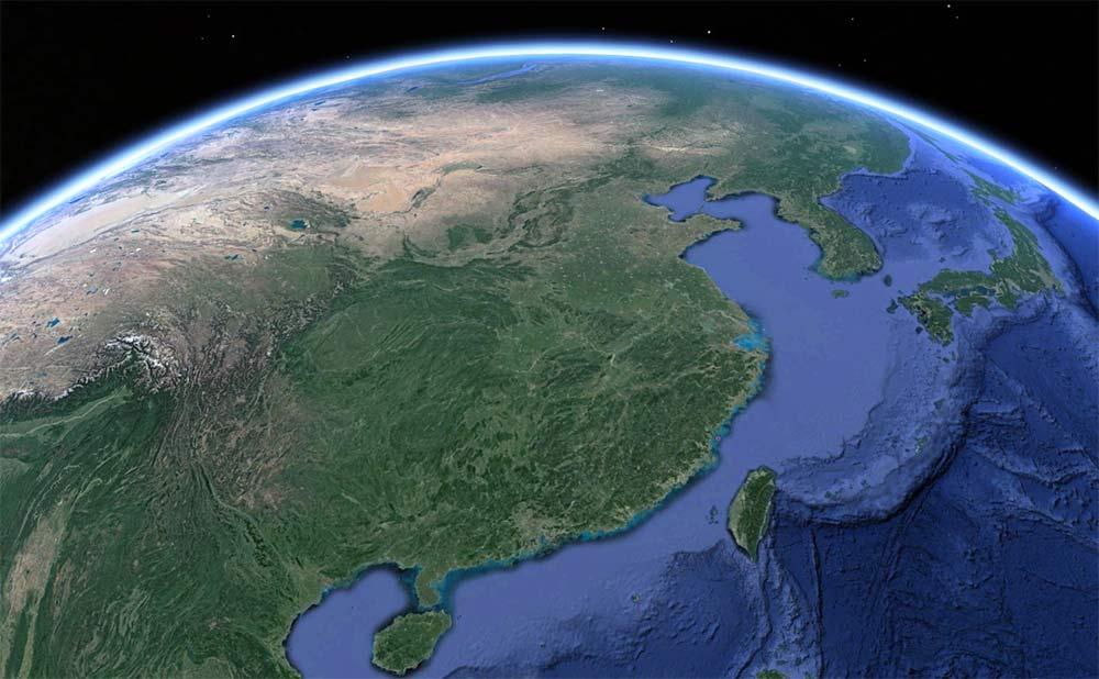china-from-satellite