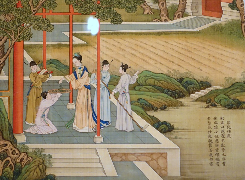 Empress-Cao-Growing-Grains-and-Rearing-Silkworms