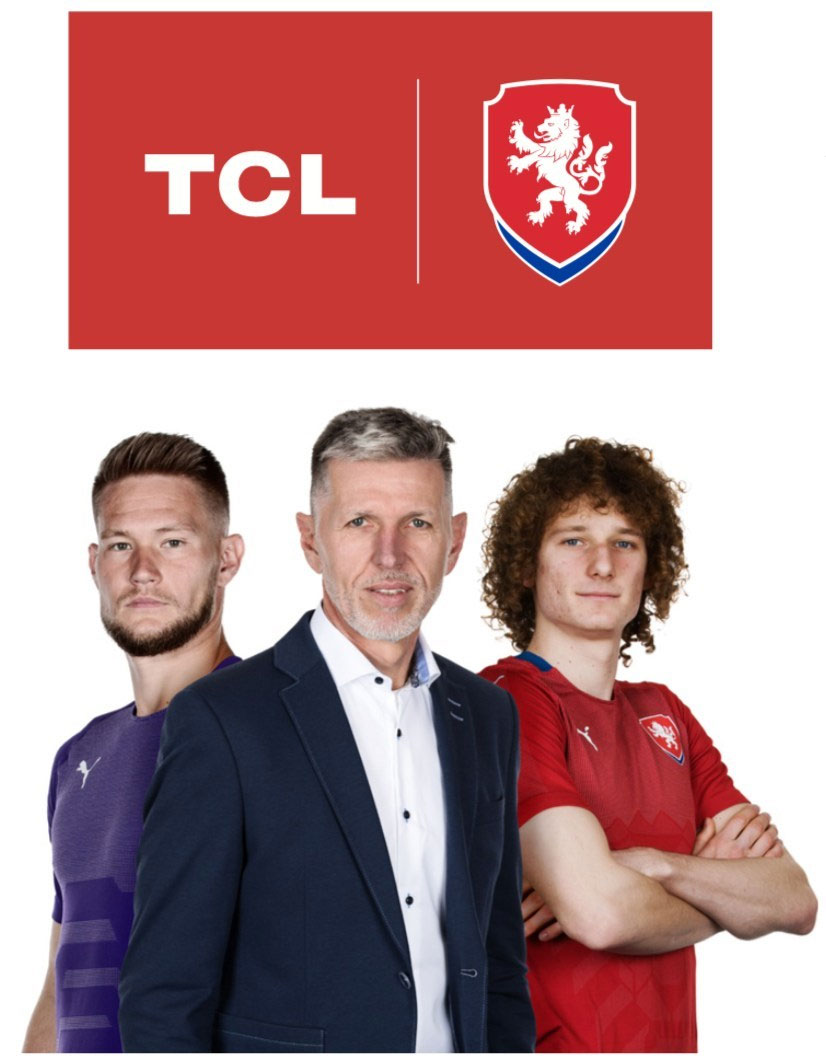 TCL Becomes Premium Partner of the Czech National Soccer Team