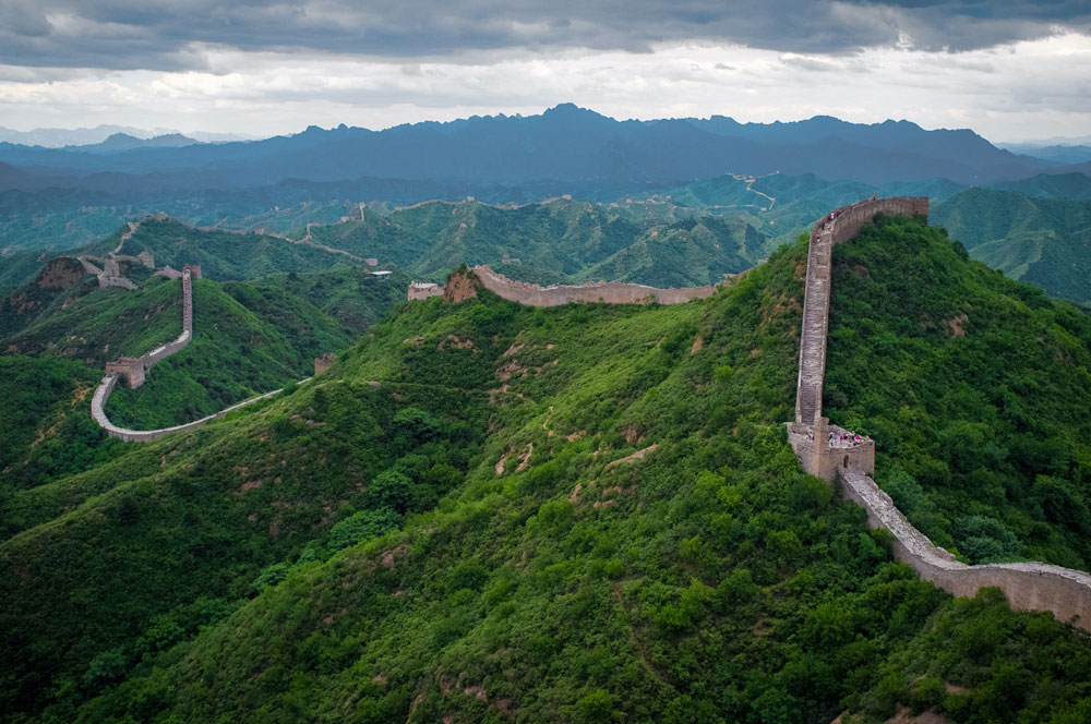Popular tourist hotspots like the Great Wall of China are temporarily closed for tourists