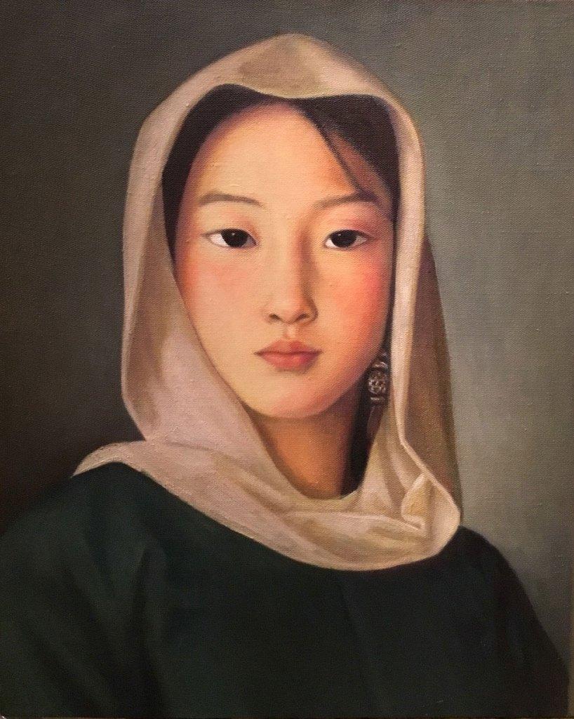 Xue Mo painter mongolia
