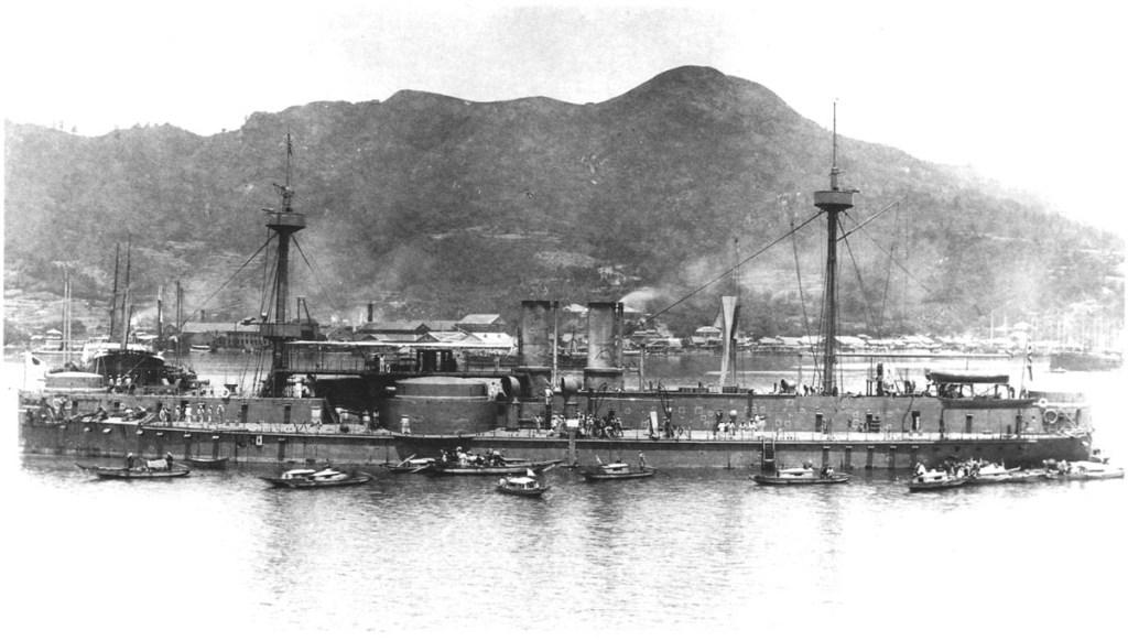 Chinese ironclad Zhenyuan