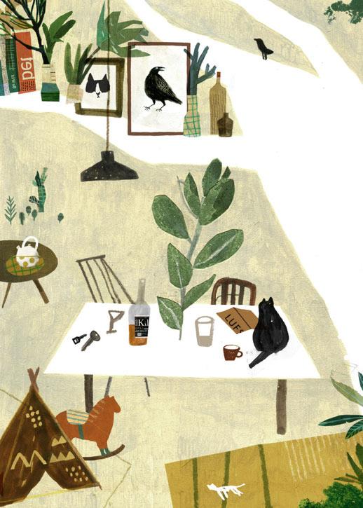 Illustrator - Artist Chia-Chi Yu