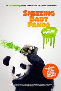 """Poster for the movie """"Sneezing Baby Panda - The Movie"""""""