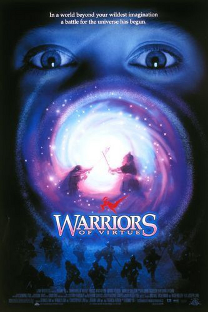 """Poster for the movie """"Warriors of Virtue"""""""