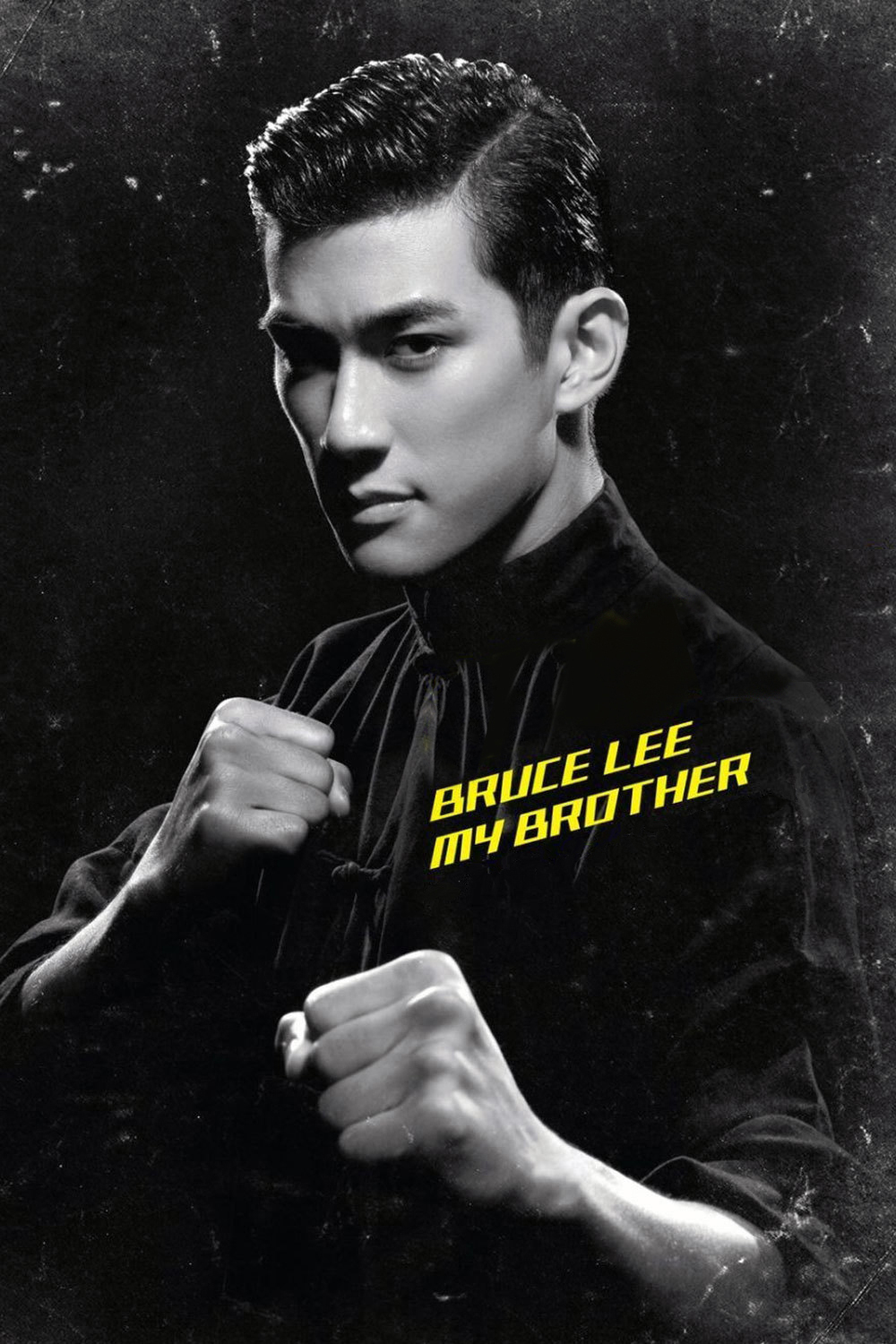 """Poster for the movie """"Bruce Lee, My Brother"""""""