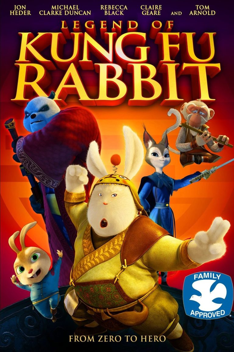 """Poster for the movie """"Legend of Kung Fu Rabbit"""""""