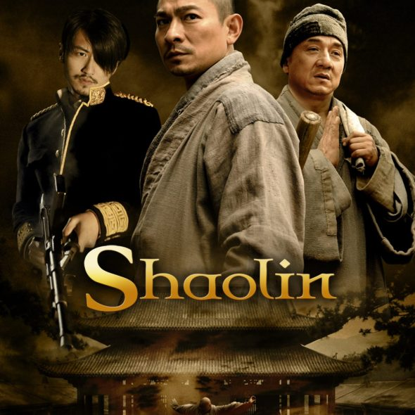 """Poster for the movie """"Shaolin"""""""