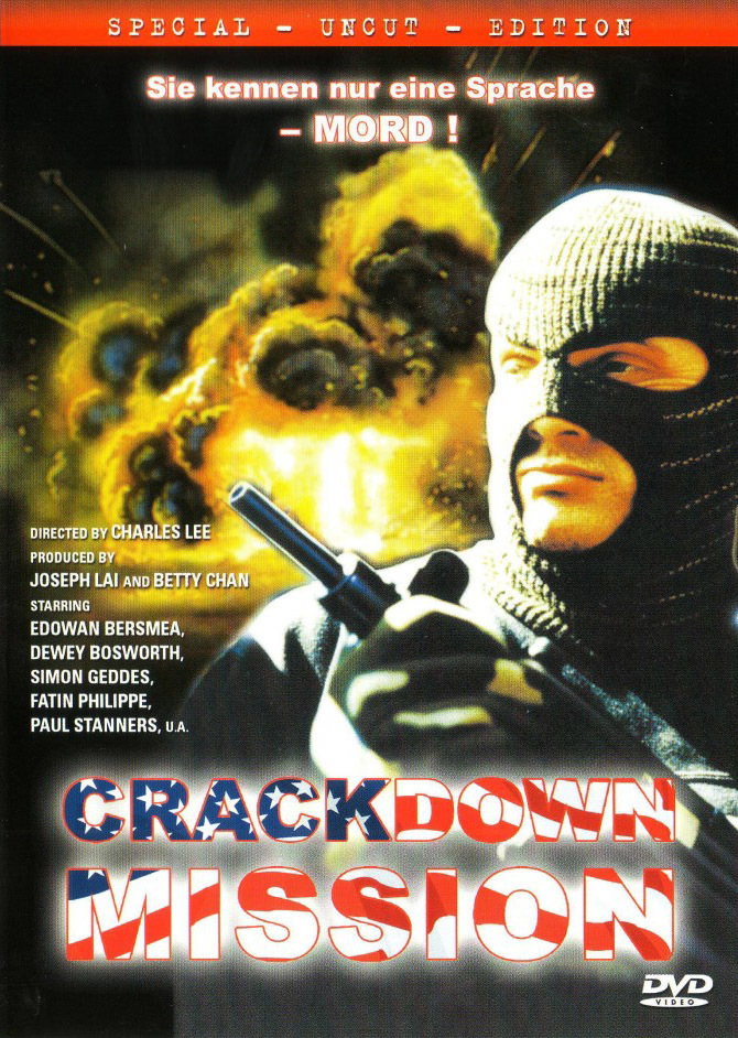 """Poster for the movie """"Crackdown Mission"""""""