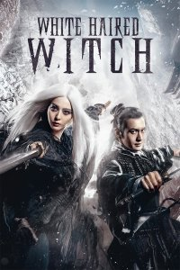 """Poster for the movie """"The White Haired Witch of Lunar Kingdom"""""""