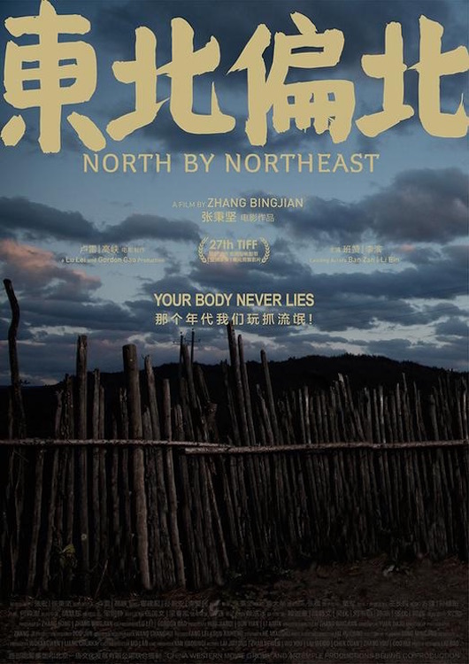 """Poster for the movie """"North by Northeast"""""""