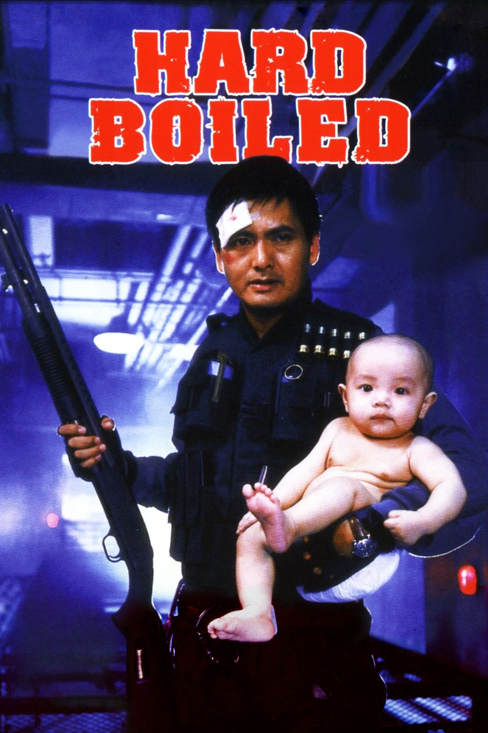 """Poster for the movie """"Hard Boiled"""""""