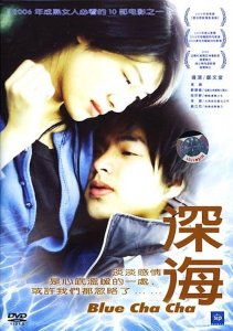 """Poster for the movie """"Blue Cha Cha"""""""
