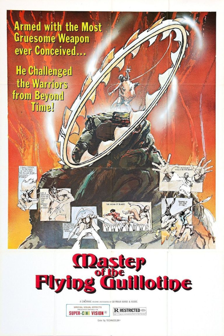 """Poster for the movie """"Master of the Flying Guillotine"""""""