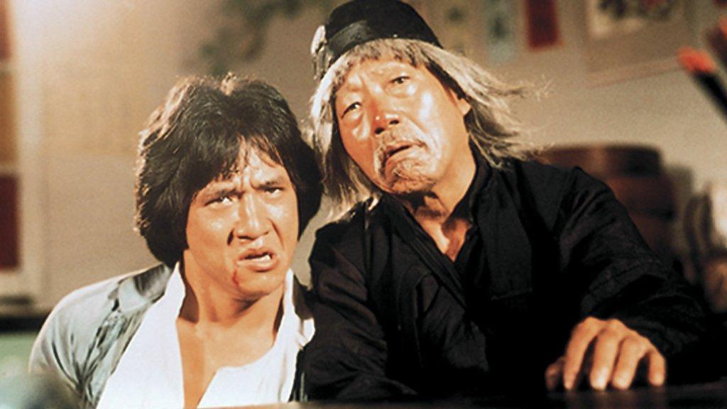 "Image from the movie ""Drunken Master"""
