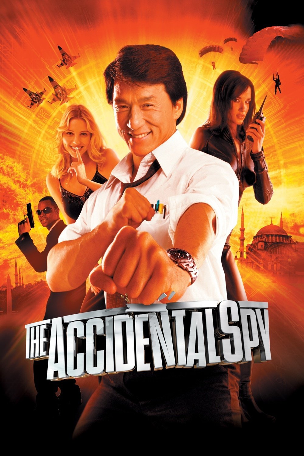 """Poster for the movie """"The Accidental Spy"""""""