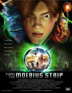 """Poster for the movie """"Thru the Moebius Strip"""""""