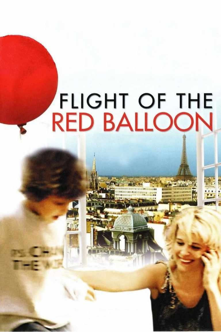 """Poster for the movie """"Flight of the Red Balloon"""""""