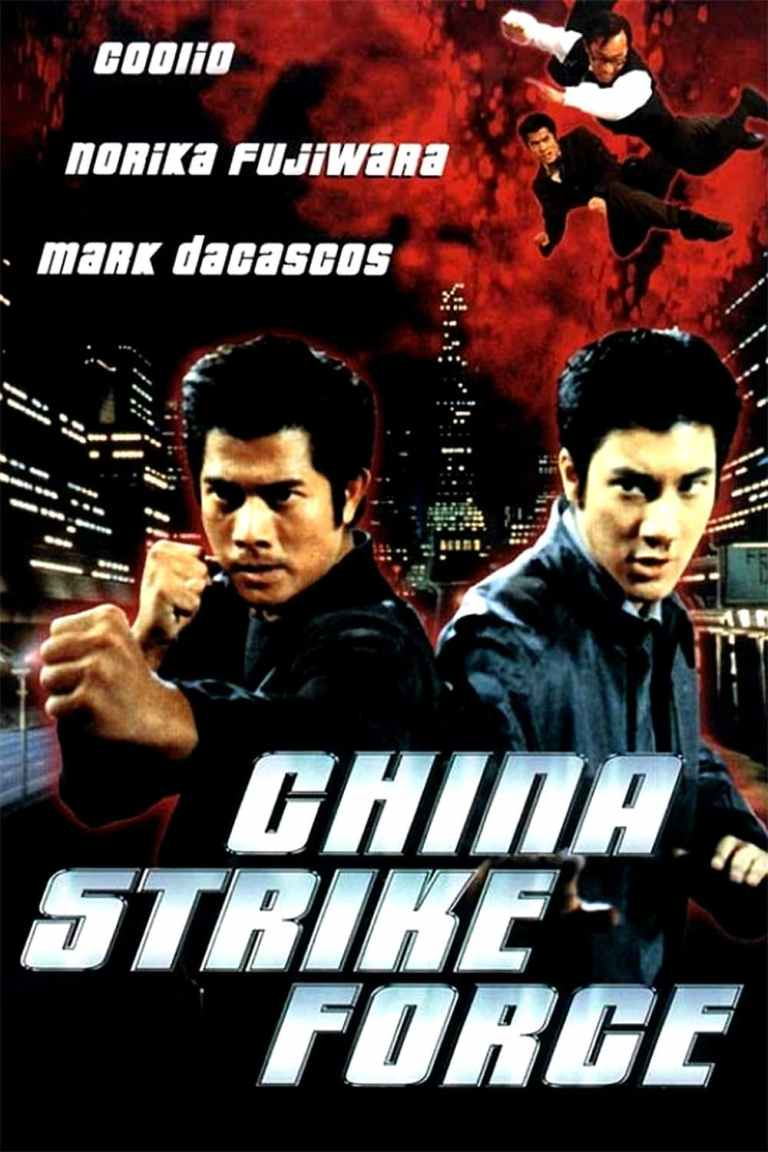 """Poster for the movie """"China Strike Force"""""""