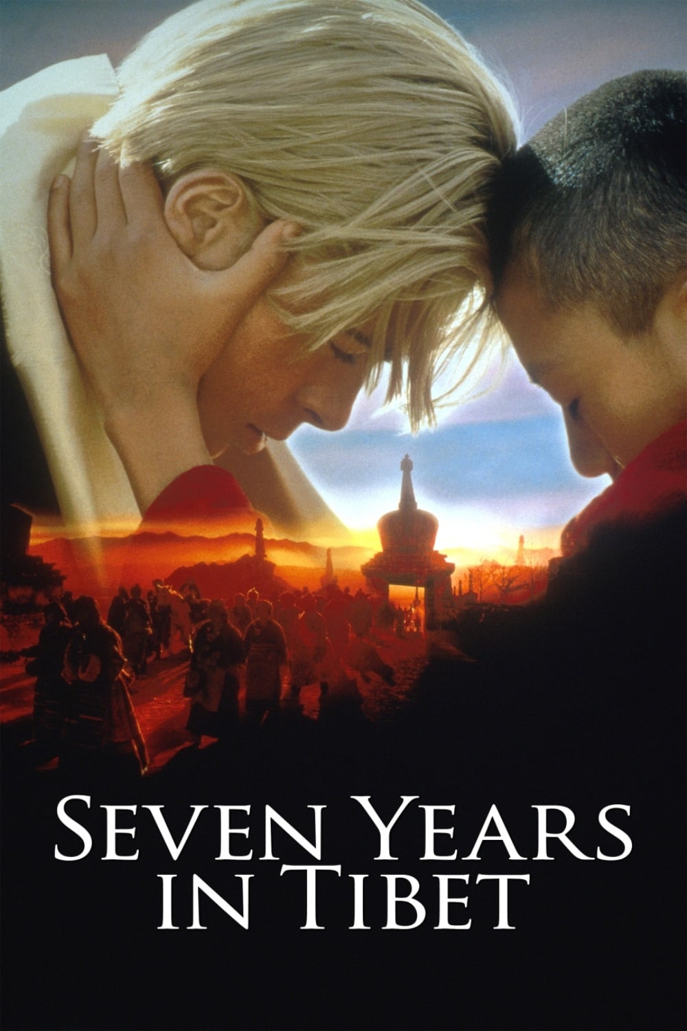 """Poster for the movie """"Seven Years in Tibet"""""""