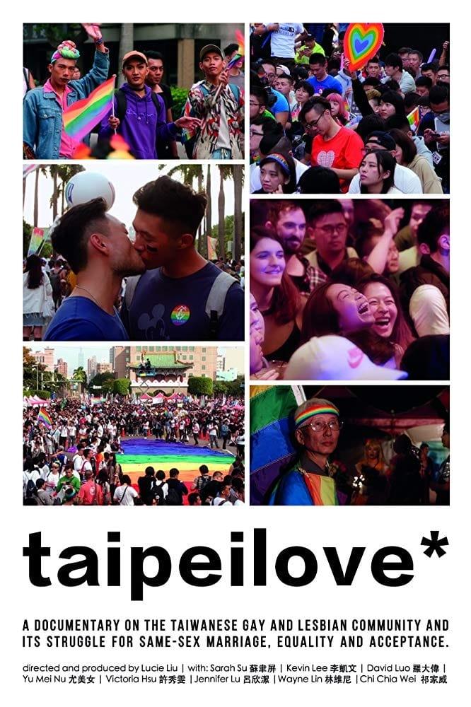 "Poster for the movie ""Taipeilove*"""