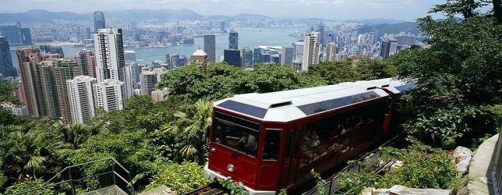 Peak Tram op Victoria Peak – Hong Kong Island