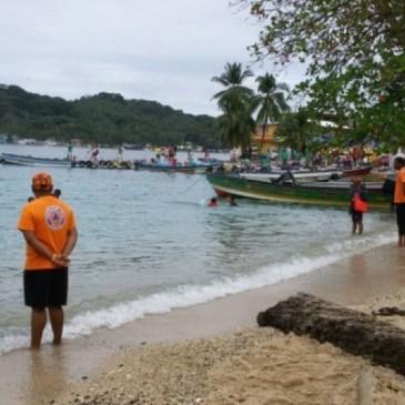 民防局在牛口省救起17名船難者