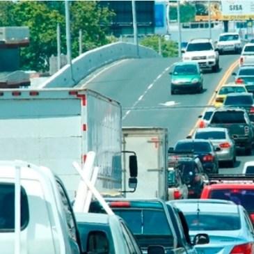 跨地峡公路下周因工程封路