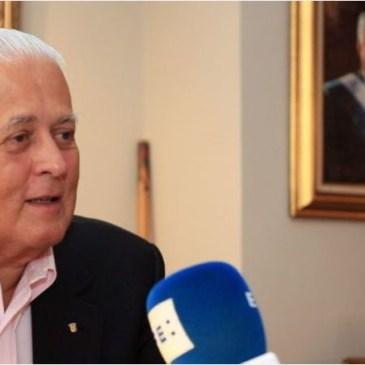 前总统巴利亚达雷斯宣布再竞选巴拿马总统