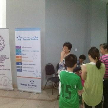 世界華人工商妇女企管協会巴拿馬分会举办健康日