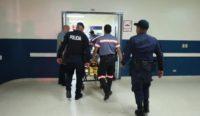 一精神病患从政府医院劫车逃离
