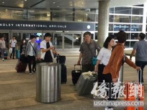 来美只订一天旅馆 一中国游客被洛杉矶海关遣返