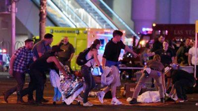 拉斯维加斯枪击案已致50人死亡  巴拿马政府表示强烈谴责