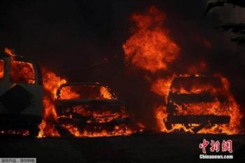 加州大火继续肆虐1人死亡 全州再次进入紧急状态