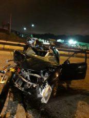 Centenario大道发生车祸 一人受伤