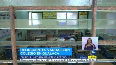 侨声报:Chiriquí省学校遭暴力袭击