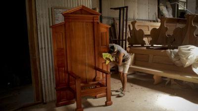 世界青年节:一起来看看巴拿马为教宗打造的椅子