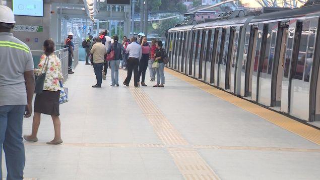 通知:地铁1号线本周六中午起免费 直至周日6pm
