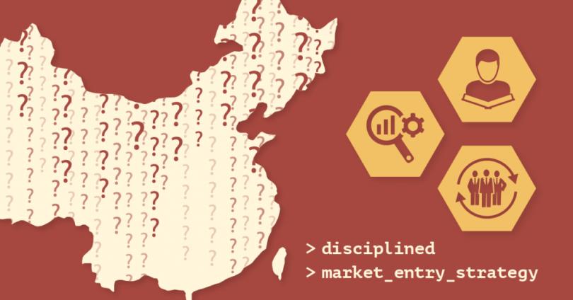China Disciplined Market Entry Strategy