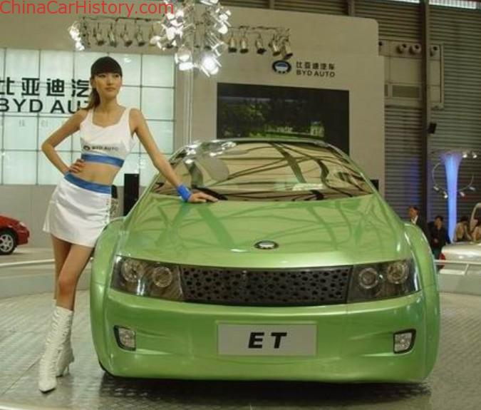 China Concept Cars: The 2004 BYD ET
