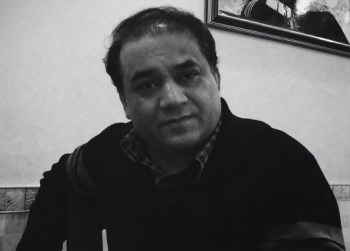 Ilham Tohti. Photo taken a week before his detention by Woeser.