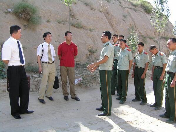许志永采访_05年陕西_武警